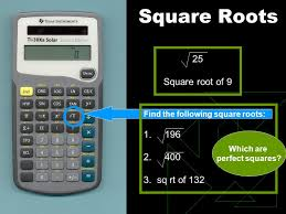 3 square roots