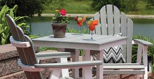 at outdoor home we carry a wide selection of outdoor poly furniture from berlin gardens llc also known as poly lumber furniture or resin furniture