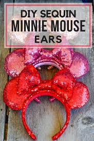 diy minnie mouse ears png
