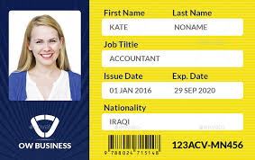 Company Id Card Template Multipurpose Business Id Card Template Vol 2