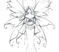 Fairies Coloring Pages Free Printable Coloring Pages For Adults To