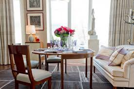 dining table in living room. contemporary dining room by rikki snyder table in living
