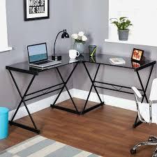 walker edison 3 piece desk desks z line glass l shaped puter instructions regarding
