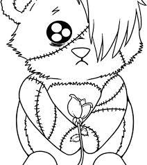 Free Printable Gothic Fairy Coloring Pages Emo Coloring Book