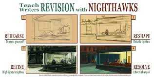 teach writers revision with edward hopper s nighthawks