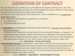 Contract Essential Elements Interesting GOVERNMENT COLLEGE ROPAR PRESENTATION ON BUSINESS LAWS Ppt Video