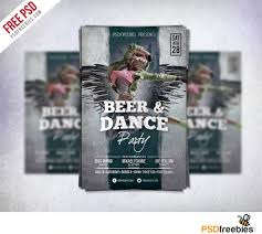 free dance flyer templates dance party flyer template free psd psdfreebies com