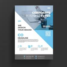 Flyer Backgrounds Psd Blue Corporate Business Flyer Template Psd File Free Download