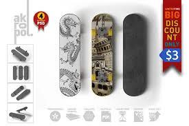 All free mockups consist smart object for easy edit. 15 Beautiful Skateboard Mockup Psd Templates Mockuptree