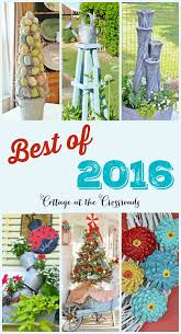 best diy projects of 2016 from cottage at the crossroads blog