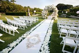 best garden wedding ceremony venues outdoor wedding ideas tips from the experts inside weddings