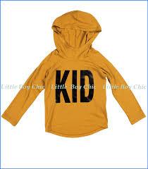Joah Love Kid Print Unisex Hoodie In Golden