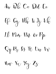 Fonts Calligraphy Hand Lettering 5 Simple Tips To Get You Started Handing Lettering