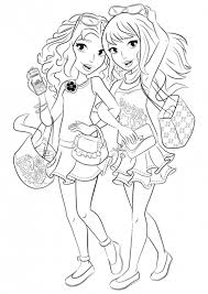 Lego Friends Coloring Pages To Download And Print For Free Lego