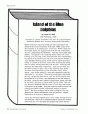 island of the blue dolphins literature guide rd th grade  worksheets island of the blue dolphins activities