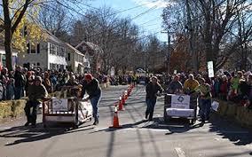 Wendy Herrick Floral wins Rolling Slumber Bed Races!   Brunswick Downtown  Association