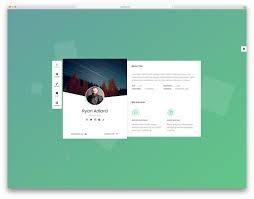 Best Resume Websites Best Website Templates For Personal Portfolio Websites