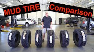 Mud Tire Comparison Chart The Best Mud Tires Compared General Grabber X3 Bf Goodrich Km3 Plus Toyo Nitto Firestone Falken