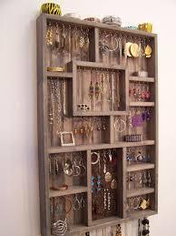 Wall Jewelry Organizer Jewelry Display Crafthubs