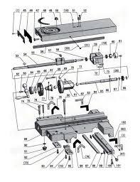 Ersatzteile spare parts d560 optimum 7 15 ersatzteilzeichnung planschlitten drawing spare parts cross slide