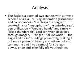 the eagle alfred lord tennyson analysis