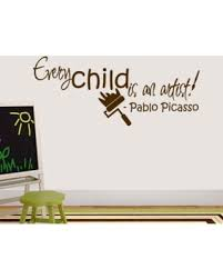 sweetums wall decals every child is an artist wall decal  on artistic wall decal with new savings on sweetums wall decals every child is an artist wall decal