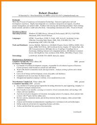 Programmer Resume Sample Cobol Programmer Resume Examples Best Of 100 Web Developer Resume 60