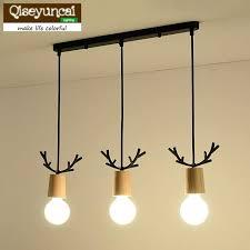 mini wood bead chandelier distressed white