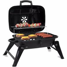 portable charcoal grill barbecue compact 18 grill bbq camping patio backyard