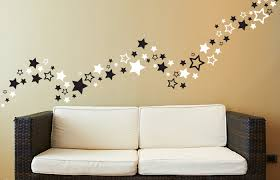 vibrant inspiration star wall decor decoration ideas of amazing on home decorating metal stars for nursery uk stickers