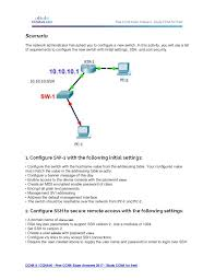 View a sample of the practice exams that will prepare you for the CCENT or  the CCNA industry exams Market Harmony