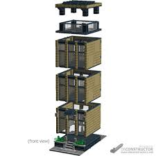 lego office building. With Open-space Offices On The Upper Main Floor(s). Structure Can Be Used For Anything, Though, Building\u0027s Purpose Is Only Limited By Your Lego Office Building J