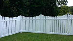 gallery of vinyl garden fence ideas throughout fencing white