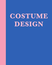 Costume Design 8 X 10 Notebook In Blue With 110 Pages Of