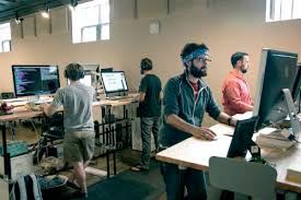 google office video. google office desk best standing desks healthy furniture stand up store video s