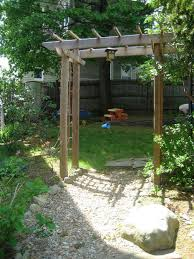 Small Picture Build a Wooden Garden Arbor 6 Steps with Pictures