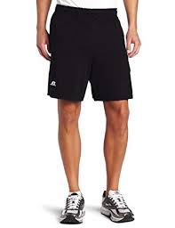 Russell Athletic Mens Cotton Performance Baseline Short At