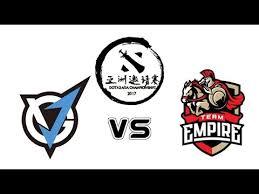 team vgj vs team empire live dota 2 asia championships 2017