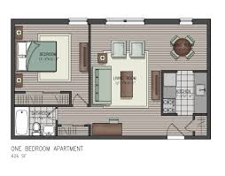 Small One Bedroom Homes Floor Design Open House S Charming Where To Get Plan For My Idolza