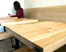 how to make a round table top oak table top see how we make the best how to make a round table top