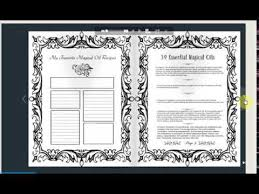 wicca book of shadows for coloring bos coloring book flip through