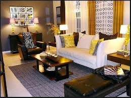 decorative living room ideas. Decoration: Beauteous Yellow Gray And Brown Living Room Design Ideas By  Kids Decor Grey Home Decorative Living Room Ideas