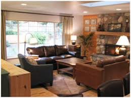 Rustic Cabin Living Room Decorating Idea