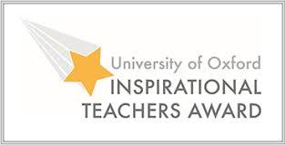University Of Oxford Inspirational Teacher Awards Rsvp