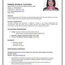 Cute Resume Format Jobstreet Gallery Entry Level Resume Templates