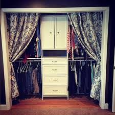 Closet Door Ideas Curtain - If you have just purchased a house or you are  thinking of re decorating your home, consider th