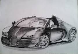 El bugatti chiron hace su debut en el salón de ginebra y, sin duda, es una de las mayores estrellas el bugatti chiron es más alto y ancho que su precedesor, lo que permite ofrecer más espacio, sobre. Bugatti Veyron Supersport Vitesse W16 4 Dibujo Por Bruno Cardoso Artmajeur