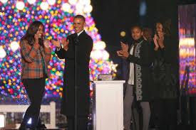 Obama Lights The National Christmas Tree Cbs News