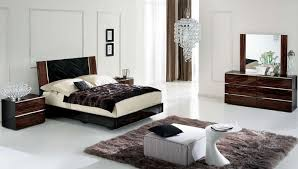 white bedroom ideas with dark wood furniture