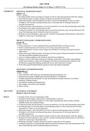 Hydrogeologist Resume Samples Velvet Jobs